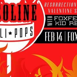 Gasoline Lollipops Resurrection CD Release - Valentine's Day 2017