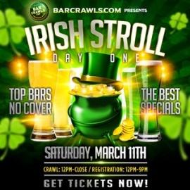 Irish Stroll Bar Crawl