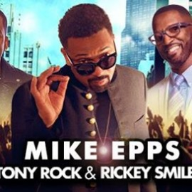 Mike Epps with Rickey Smiley & Tony Rock