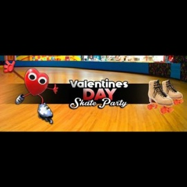 Free Valentines Red Skate Party
