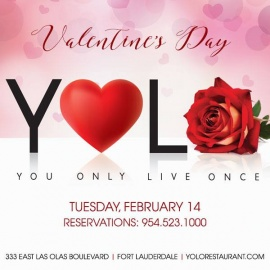 Valentine's Day at YOLO
