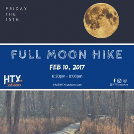 HTXO Full Snow Moon Hike