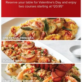 Celebrate Valentine's Weekend at BRIO Tuscan Grille