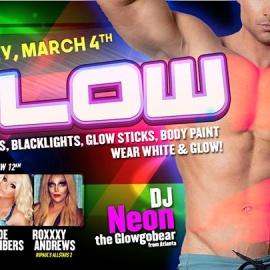 03.4.17 GLOW with DJ Neon The Glowgobear