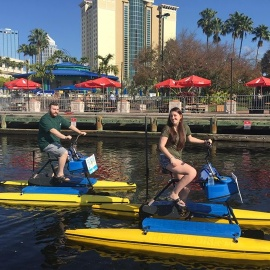 Valentine Water Bike Ride - Special Rates 2/10-2/17