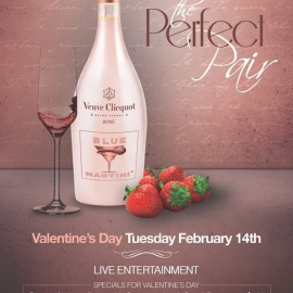 Valentine's Day at Blue Martini Lounge 2017