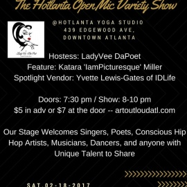 The Hotlanta Open Mic Variety Show