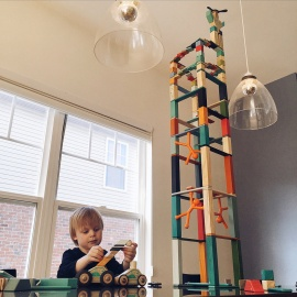 Imaginative Building with Tegu