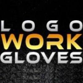 Logo Work Gloves