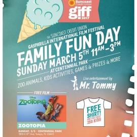 Family Fun Day at Suncoast Credit Union Gasparilla Film Festival