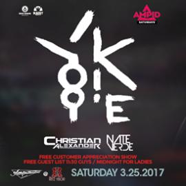 Yookie – Free Guest List – Amp!d Saturdays – Tampa, FL