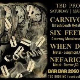 Carnivorous Greed/ SFOA/ When Darkness Falls/ Nefarious Heart