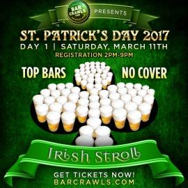 St Patrick's Day Irish Stroll Day 1