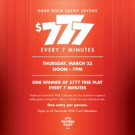 Hard Rock Lucky Sevens