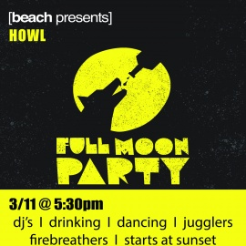 Full Moon Party at Beach