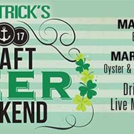 St. Patrick's Beer & Oyster Weekend