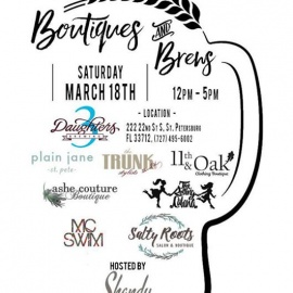 Boutiques and Brews | 3 Daughters Brewing
