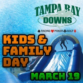 Kids and Family Day   Tampa Bay Downs