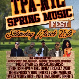 TAMPA-NYC Spring Music Festival