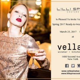 Lilli Spina Spring 2017 Ready-to-Wear Fashion Party