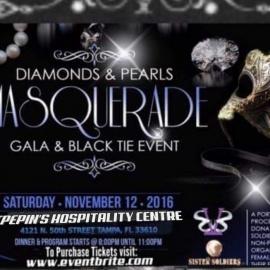 Diamonds & Pearls Masquarade Gala