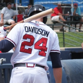 Braves News: Braxton Davidson hits walk-off then has to be helped off158