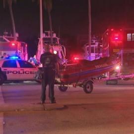Driver crashes car into Indian Creek in Miami Beach88