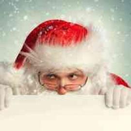 See Santa and snow at Miami's Dolphin Mall48