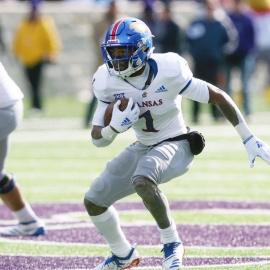 Texas' next tall test is slowing Kansas RB Pooka Williams Jr., who's chasing history206
