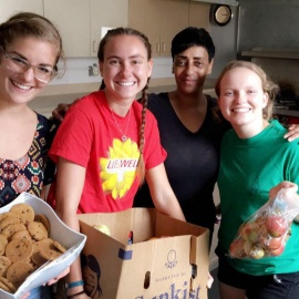 Valuable leftovers: FRN combats local hunger