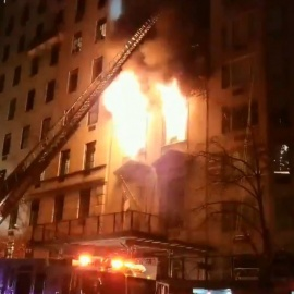 Fire rips through historic Upper East Side mansion45