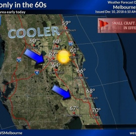 Airline cancels some Daytona flights; cooler nights ahead for area78