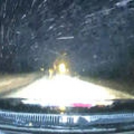 Live: Texas Thunder Truck Tracks Wet Snow West of DFW119