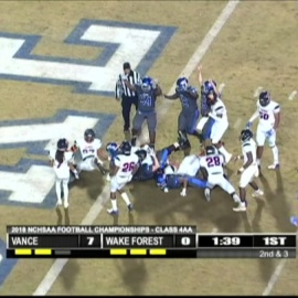 Wake Forest wins third straight state title in dramatic fashion34