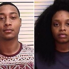 Couple arrested after home video shows baby strangling78