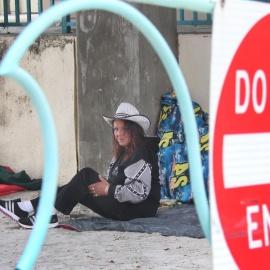 Homeless tide remains high on Daytona Beach78