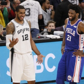 Spurs keep it together in blowout of 76ers124