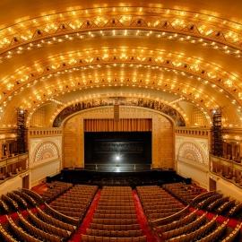 Auditorium Theater restores more gold stencil work from Art Institute archival photos172