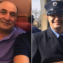 Son of gas station attendant run over by thief is going to be FDNY firefighter45