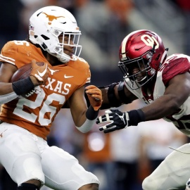 Texas RB Keaontay Ingram has big offseason goals for the weight room and film room206
