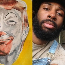 S.C. artist Ment Nelson inspired by Trump to produce absurdist critiques of