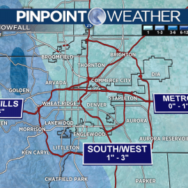 Light snow possible in Denver; heavier accumulation continues in mountains244