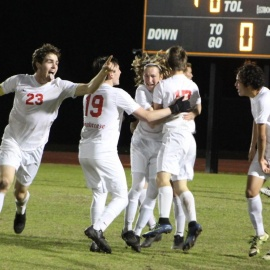 Seabreeze, Spruce Creek play to 1-1 draw in intense boys soccer rivalry game79