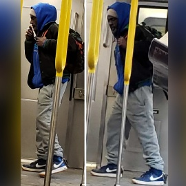 Cops looking for perv accused of masturbating on subway45