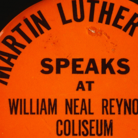 Remembering when Martin Luther King Jr. Spoke in NC State's Reynolds Coliseum286