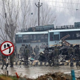 India warns of 'crushing response' to Kashmir suicide attack121