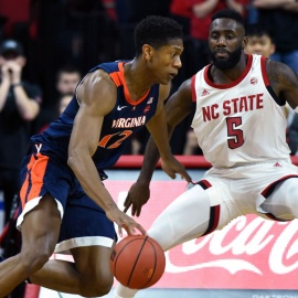 NC State guard Eric Lockett charged with misdemeanor assault on a woman, suspended from basketball team283