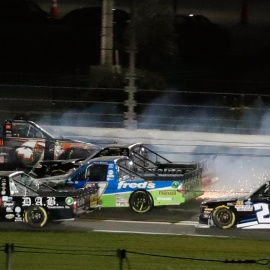 Daytona Speedweeks: Austin Hill wins as NASCAR Trucks blast into 2019 78
