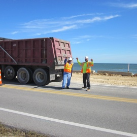 Work begins on A1A in Flagler Beach78