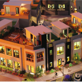 Modern townhomes from $500Ks are planned to plug downtown Chamblee gap 194